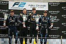 Formel 2 2019: Abu Dhabi GP - Rennen 23 & 24