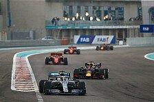 Formel 1, Abu Dhabi: Hamilton gewinnt Finale vor Verstappen