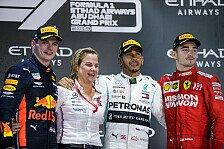 Formel 1 2019: Abu Dhabi GP - Podium