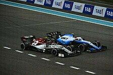 Formel 1, Abu Dhabi GP: Versöhnlicher Abschluss für Kubica