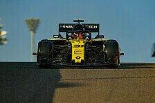 Formel 1 Ticker-Nachlese: Test in Abu Dhabi, Ocon im Renault