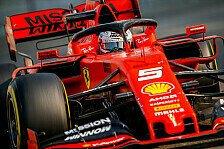 F1, Abu Dhabi Testtag 1: Vettel mit Dreher auf P2 hinter Bottas