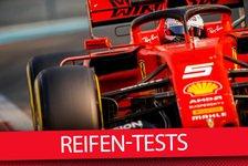 Formel 1 - Video: Neue Reifen: Der wichtigste Formel-1-Test des Jahres 2019