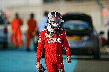 Formel 1 Ticker-Nachlese: Test in Abu Dhabi, Leclerc crasht