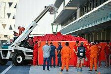 Formel-1-Test Abu Dhabi: Mercedes-Russell vorne, Leclerc crasht