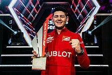 Formel 1, eSports: Ferrari-Junior Tonizza gewinnt Titel 2019