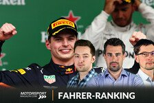 Formel 1 Fahrerranking 2019: Verstappen entthront Hamilton