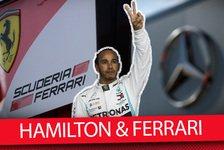 Formel 1 - Video: Formel 1 Q&A: Lewis Hamilton zu Ferrari - Was ist dran?