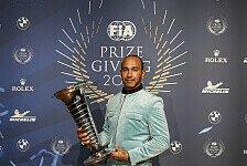 Formel 1, FIA-Gala 2019: Hamilton, Verstappen & Lauda geehrt