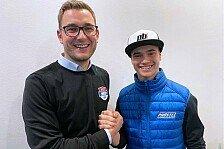 Dirk Geiger fährt 2020 vier Moto3-Rennen für PrüstelGP