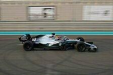 Formel 1 2021: Mercedes beendet 18-Zoll-Test für Pirelli