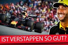 Formel 1 - Video: Formel 1 Q&A: Wie gut ist Max Verstappen wirklich?