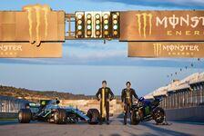 Rossi im Mercedes, Hamilton auf M1: Die besten Bilder