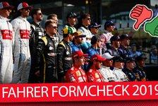 Formel 1 - Video: Formel 1, Formcheck: Unsere große Fahrer-Analyse