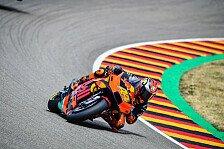 KTM-Tribüne beim Motorrad Grand Prix Deutschland 2020