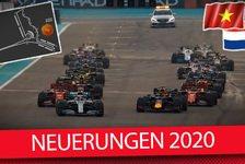 Neue regeln formel 1 2020
