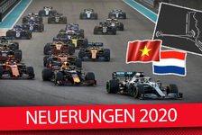 Formel 1 2020 - Regeln, Kalender, Fahrer & Teams: Die Neuheiten