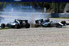 Zoff zwischen Mercedes-Fahrern? Wolff scheut Rennsperre nicht