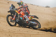 Dakar - Video: Rallye Dakar 2020: Highlights der 2. Motorrad-Etappe