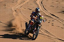 Dakar - Video: Rallye Dakar 2020: Highlights der 3. Motorrad-Etappe
