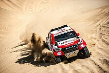 Dakar - Video: Rallye Dakar 2020: Highlights der 3. Auto-Etappe