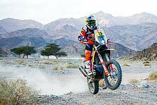 Dakar - Video: Rallye Dakar 2020: Highlights der 5. Motorrad-Etappe