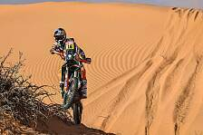 Dakar - Video: Rallye Dakar 2020: Highlights der 6. Motorrad-Etappe