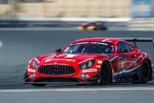 Dubai 24h: Black Falcon-Mercedes gewinnt bei Regenchaos