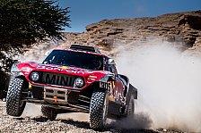 Rallye Dakar 2020: Vierter Tagessieg für Sainz nach Abbruch