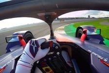 Formel E: Neue Helm-Kamera sorgt für Live-Spektakel in Saison 6