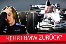 Formel 1 - Video: Formel 1 Q&A: Kehrt BMW in die F1 zurück?