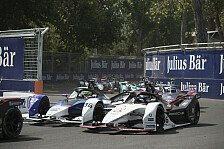 Formel E: Porsche erleidet Rückschlag in Santiago de Chile