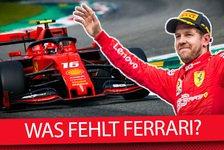 Formel 1 - Video: Formel 1 2020: Was fehlt Ferrari für den WM-Titel?