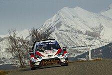 WRC Monte Carlo 2020: Evans knapp vorne