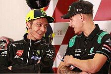 Offiziell: Quartararo ersetzt Rossi im Yamaha-Werksteam