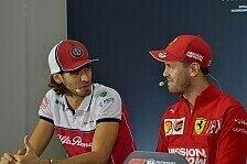 Formel 1, Giovinazzi will Vettels Ferrari: Erst Kimi knacken