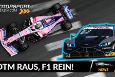 Formel 1 - Video: Formel 1 2020 - Aston Martin: DTM raus, F1 rein!