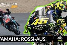 MotoGP - Video: MotoGP: Warum Yamaha nicht auf Valentino Rossi warten konnte