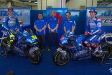 MotoGP: Suzuki stellt seine neue GSX-RR für 2020 vor