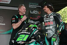 MotoGP: Franco Morbidelli verlängert bei Petronas-Yamaha