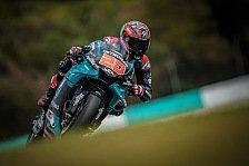 MotoGP-Tests Sepang 2020: Quartararo holt auch Samstagsbestzeit