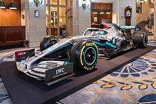 Formel 1 2020: Launch Mercedes-Lackierung