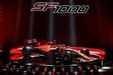Ferrari präsentiert SF1000: Vettels Formel-1-Bolide für 2020