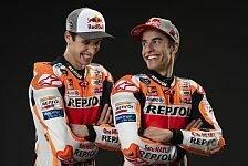 MotoGP - Video: MotoGP: 5-Sekunden-Challenge mit Marc und Alex Marquez