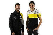 Formel 1 - Video: Formel-1-Quiz mit Ricciardo und Ocon: Auf die Länge kommt's an