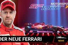 Formel 1 - Video: Formel 1 2020: Das steckt im neuen Ferrari SF1000