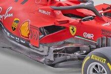 Formel 1, Ferrari SF1000 im Technik-Check: Vettels Kurvenräuber