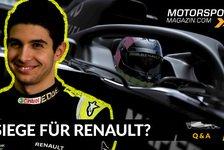 Formel 1 - Video: Formel 1 Q&A: Gewinnt Renault bald Rennen?