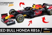 Formel 1 - Video: Formel 1 Autos 2020: Red Bull Honda RB16 im Technik-Check