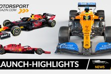 Formel 1 - Video: Formel 1 2020: Highlights der Launches & Shakedowns